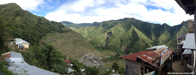 The first time to see the Rice Terraces